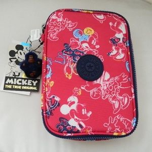 KIPLING X DISNEY Minnie Mouse 100 Pens Case